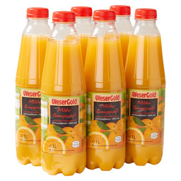 JUS D'ORANGE MILD 100 WESERGOLD PET
