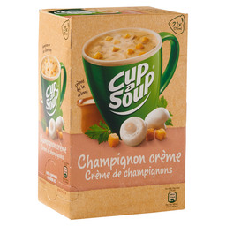 CHAMPIGNON CREMESOEP  CUP A SOUP CATERIN