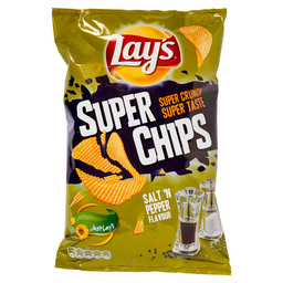 SUPERCHIPS LAY'S  PEPPER&SALT
