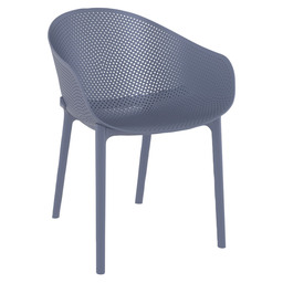 SKY ARMCHAIR - DARK GREY