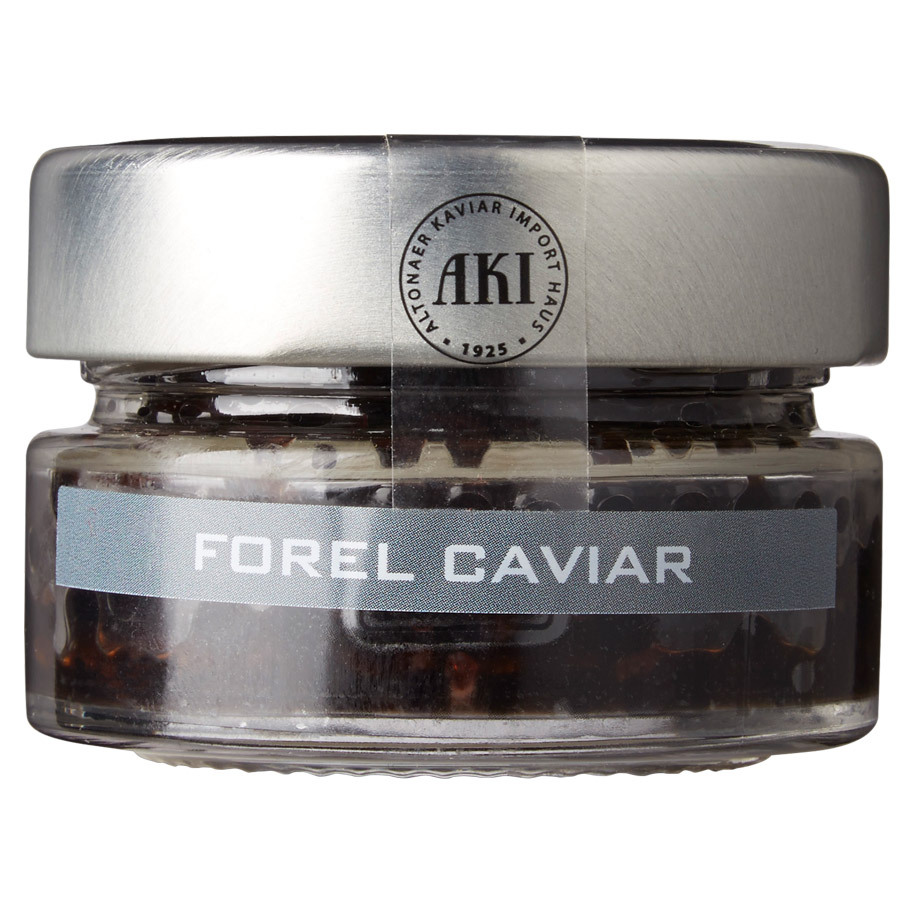 TROUT CAVIAR BLACK