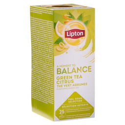THEE GREEN CITRUS LIPTON PROFESSIONEEL