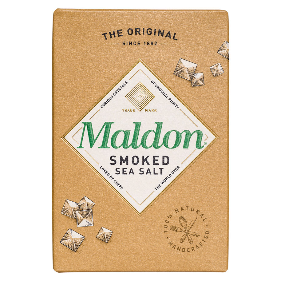 SEA SALT FLAKES MALDON SMOKED