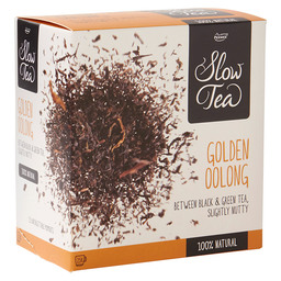 THEE GOLDEN OOLONG  PICKWICK SLOW TEA
