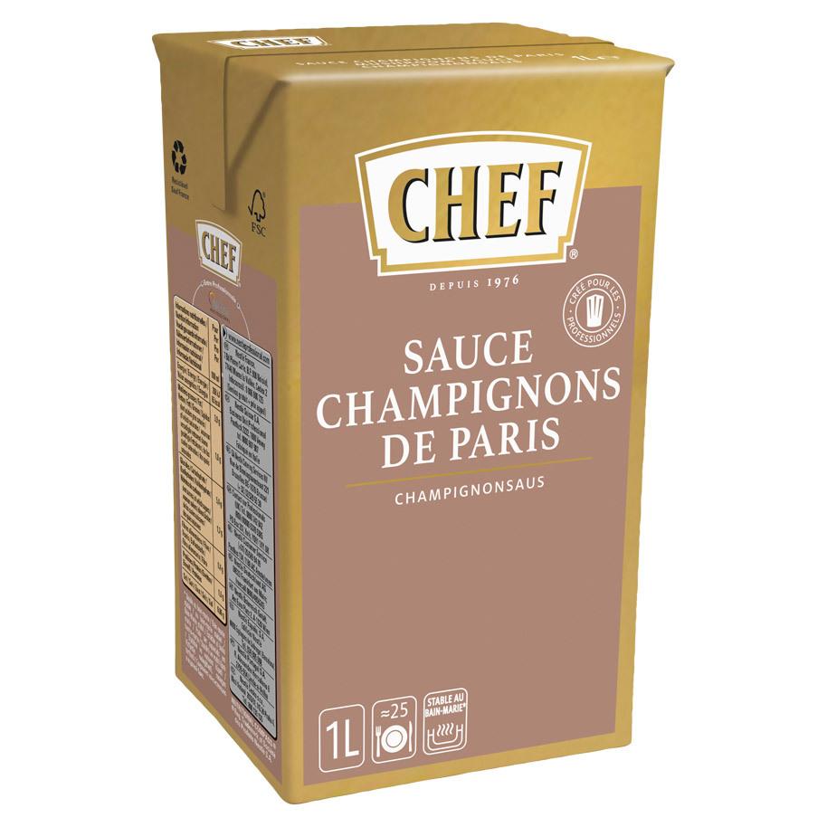 CHEF CLASSIC CHAMPIGNONSAUS
