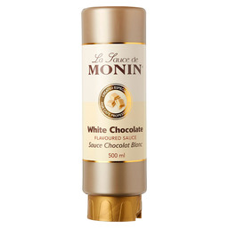 MONIN WHITE CHOCOLATE TOPPING