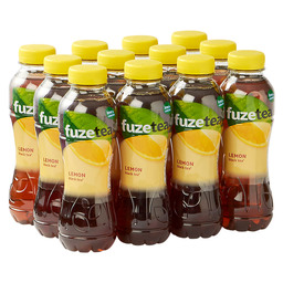 FUZE TEA BLACK TEA LEMON PET 0,4L
