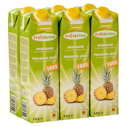 PINEAPPLE JUICE 1L FRUIT ACTION
