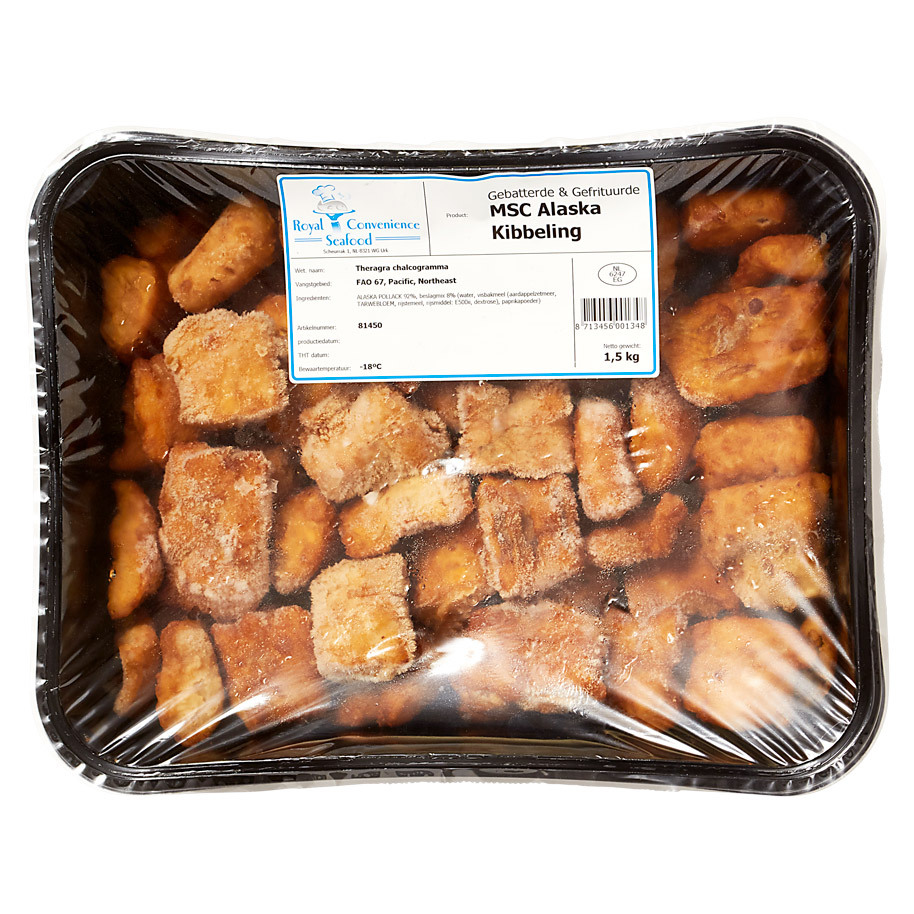 FRIED FISH PACKET FRZ