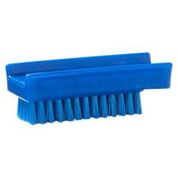 NAIL BRUSH HACCP BLUE 110X45MM