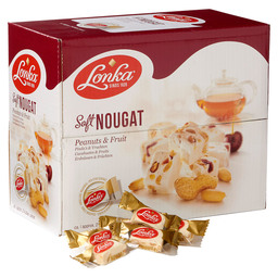 SOFT NOUGAT PEANUTS AND FRUIT 12GR