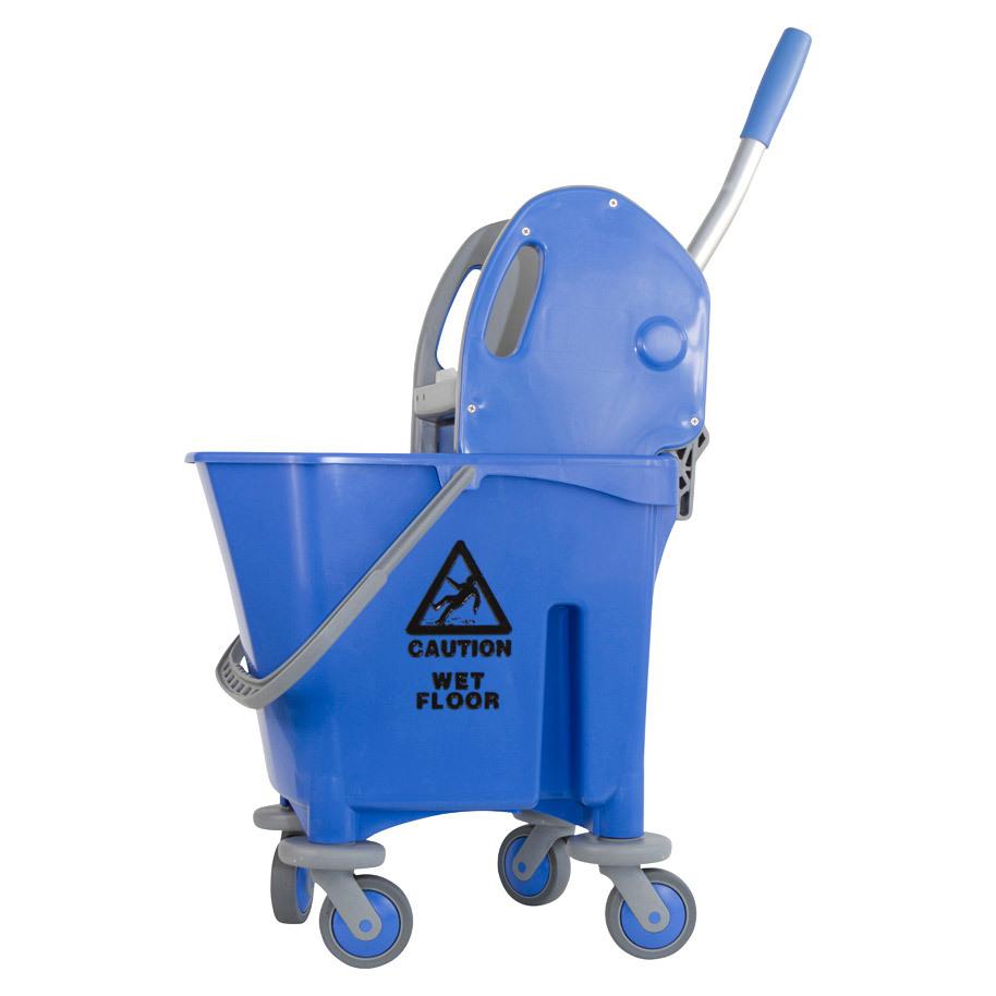 Mop trolley plastic 1 x 25 liter +press