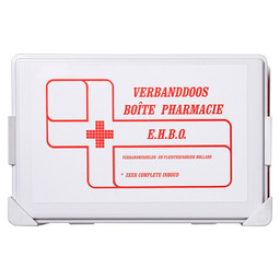 FIRST AID BOX.B2 ARBO + CLIP BOARD