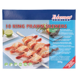 BLACK TIGER SPIESS KING PRAWN SPIESS