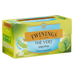 THE GREEN MINT TWININGS