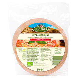 PIZZABOEDEN MINI 4STK LA BIO IDEA BIOLOG