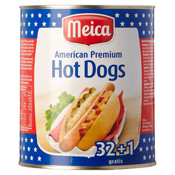HOT DOG WUERSTE MEICA 1600GR