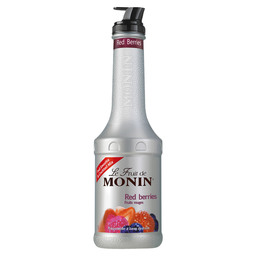 MONIN PUREE RED BER.