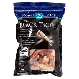 BLACK TIGER GARNELEN 4/6 EASY PEEL REAL