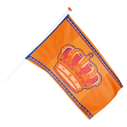 FLAG KING'S DAY POLYESTER 90X150CM