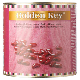 KIDNEY BONEN RED GOLDEN KEY