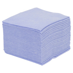 Cleaning cloth blue, interior
