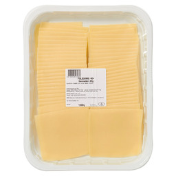 CHEESE EDAM 40+ 50 SLICES A 20GR