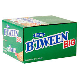 B'TWEEN HAZELNOOT 50 GRAM