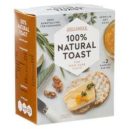 HOLLANDIA 100% NATURAL TOAST