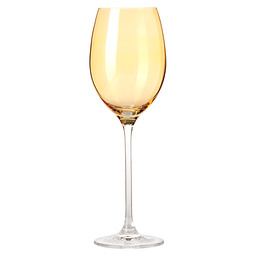 WINE GLASS 400ML AMBER LUCENTE