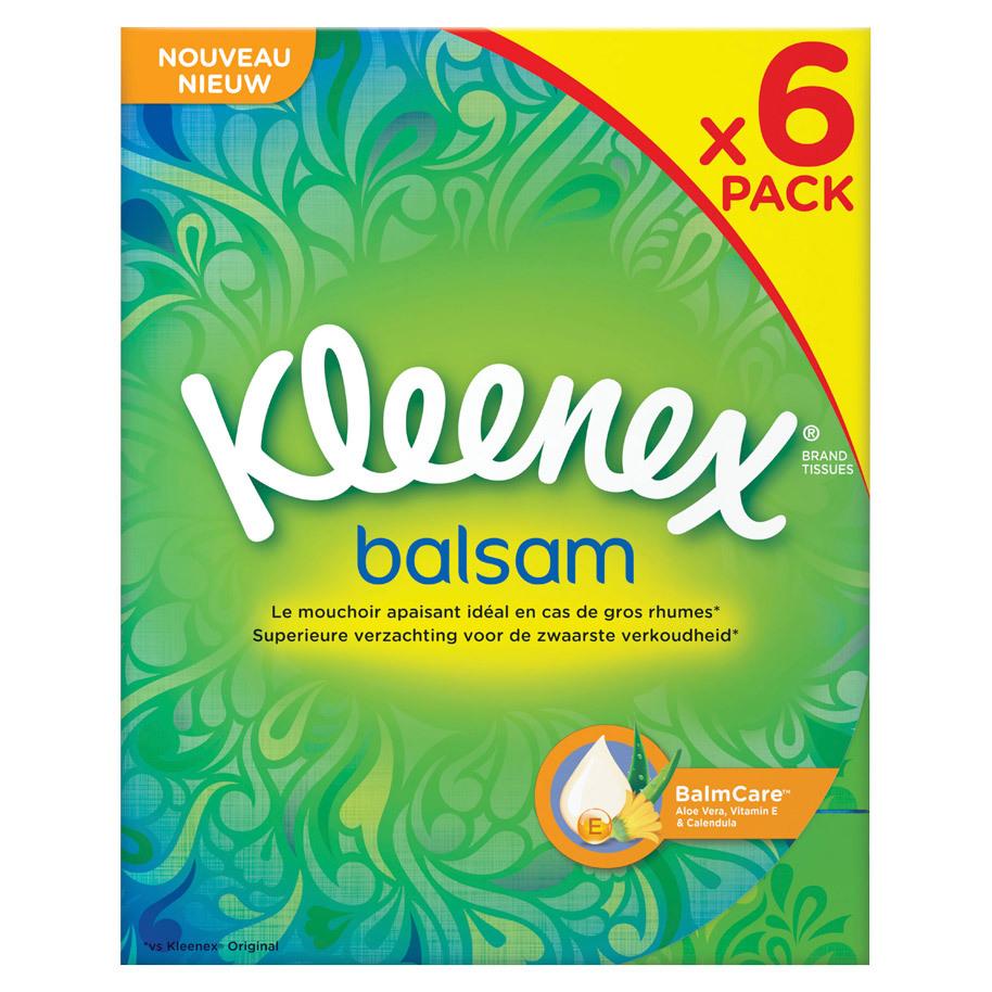 KLEENEX TISSUES BALSAM 72 VERV. 50201310
