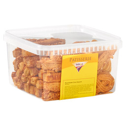 SORTED SALTY BISCUITS +/- 100 PIECES