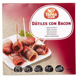 TAPAS CLUB DATES 48PCS WITH BACON