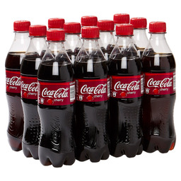 COCA COLA CHERRY COKE 50CL PET FLES