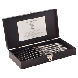 LAGUIOLE STEAKMESSER EDELST. LUXURY LINE