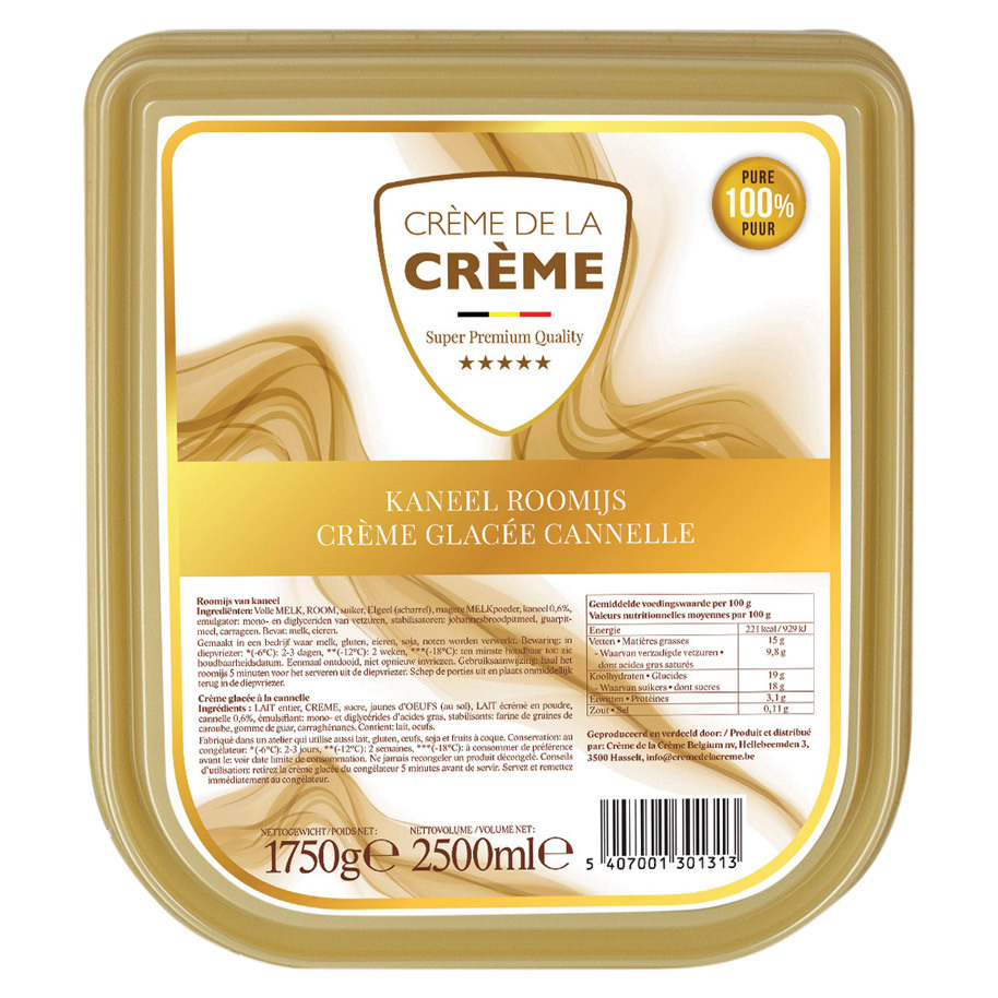 CREME GLACEE CANNELLE