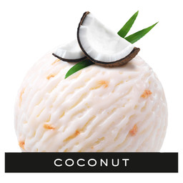 ICE CREAM COCONUT CREAM MOVENPICK