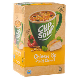 KIPPENSOEP CHINEES  CUP A SOUP CATERING