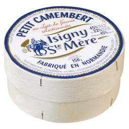 CAMEMBERT PETIT ISIGNY LABEL BLUE