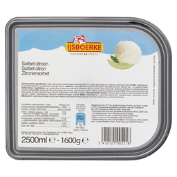 ICE SORBET LEMON IJSBOERKE