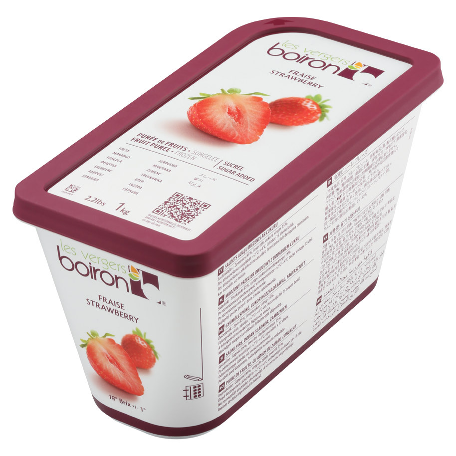 FROZEN FRUIT PUREE WITH ADDED SUGAR: STR