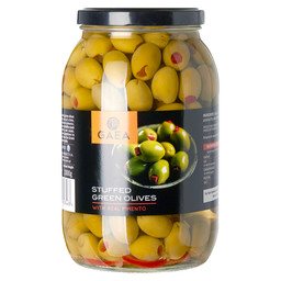 GREEN OLIVES WITH PIMENTO
