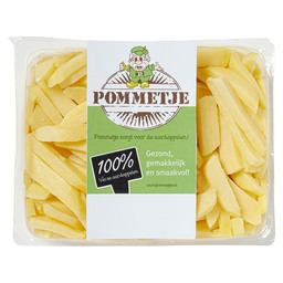 FRENCH FRIES PREBAKED 12MM SKINLESS