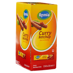 REMIA CURRY KETCHUP STICKS 20 ML