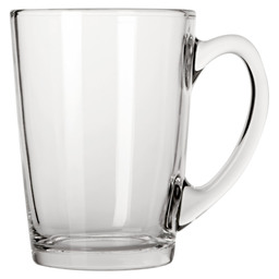TEA GLASS 32CL CLEAR NEW MORNING