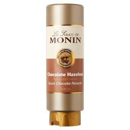 MONIN CHOCO HAZELNUT TOPPING