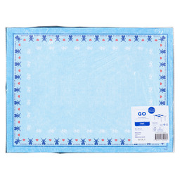 PLACEMAT PAPER 30X40CM TYP.HOLL.BLUE