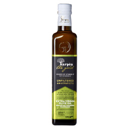UNFILTERED EXTRA VIRGIN OLIVE OIL 500ML