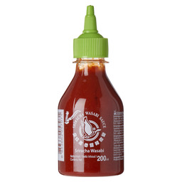 SRIRACHA SAUCE WITH WASABI FG BT 200 ML