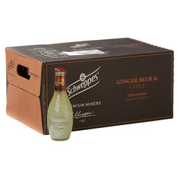 SCHWEPPES GINGER BEER 20CL CHILI
